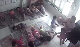 Vietnamese kindergarten teacher caught on camera tossing children 'like toys'