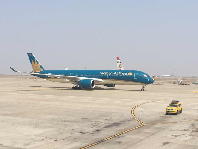 Vietnam Airlines is upgrading its fleet with wide-body aircraft. Photo: Mai Ha