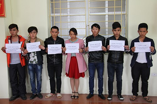 Six men and a woman have been arrested in Lao Cai Province for selling female students to China. Photo credit: VnExpress