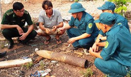 Russian rocket from 1960s falls into Vietnamese house yard