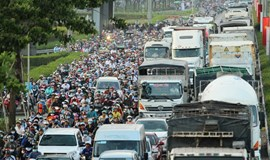 Terrible congestion as thousands leave Ho Chi Minh City for long weekend