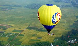 Get carried away in Hue on a hot-air balloon ride