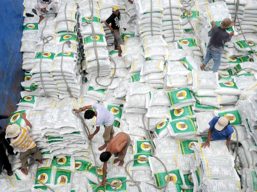 Vietnam exported more than two million tons of rice in the first four months this year. Photo: Diep Duc Minh