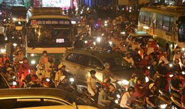 First downpour of the season brings a little chaos to Ho Chi Minh City
