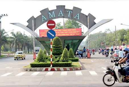 An Amata's industrial park in Dong Nai Province. Photo credit: baodongnai.com.vn