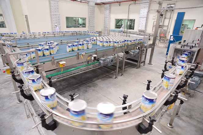 A Vinamilk factory in the southern province of Binh Duong. Photo credit: Tuoi Tre