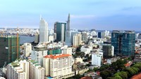 Ho Chi Minh City plans to use its privatization and divestment funds for infrastructure development. Photo: Bach Duong