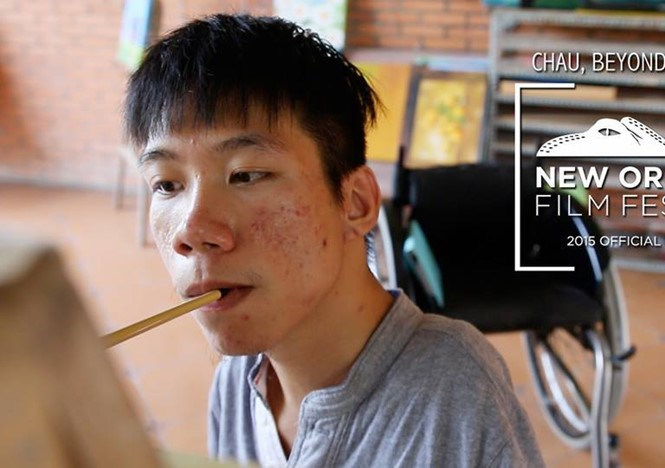 Le Minh Chau, the documentary's protagonist, is a painter living on his own in Ho Chi Minh City. Photo courtesy of the film's Facebook page
