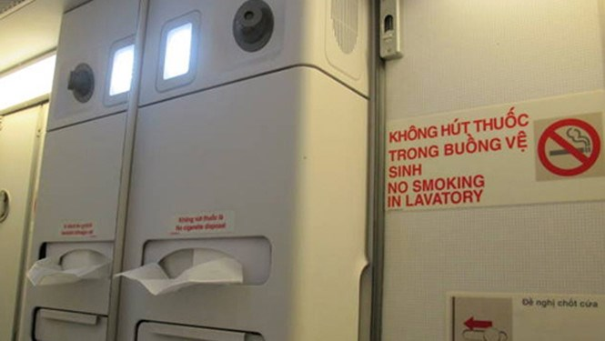 Vietnam has fined many flyers for in-flight smoking despite non-smoking instructions. File photo
