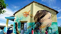 Artists have repainted a Vietnamese village, and it looks awesome