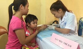Government provides free medicine for lead poisoning at recycling village