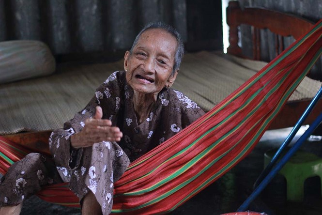 A file photo shows Nguyen Thi Tru at her home in Ho Chi Minh City last year. Photo: Vu Phuong