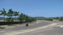 Binh Dinh Province's Nhon Hoi Economic Zone, where a US$22-billion refinery has been planned. Photo: Hoang Trong
