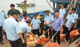 3 Vietnamese arrested for smuggling 2 tons of firecrackers from China