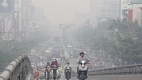 Heavy traffic has been identified as a major cause of air pollution in Ho Chi Minh City. Photo: Quang Khai/Tuoi Tre