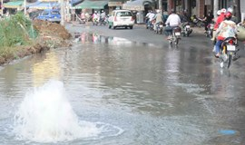 Ho Chi Minh City losing 28 percent of tap water through leaks