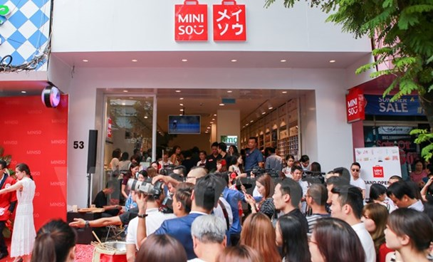 A new Miniso store in Hanoi. Photo credit: VietnamPlus