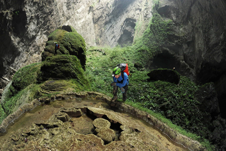 Tourists queue up to explore world's largest cave in central Vietnam