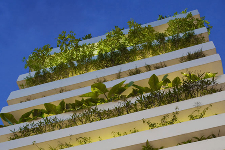 Vietnamese architect greening world, one house at a time