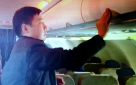 Another Chinese caught attempting theft on Vietnam Airlines flight