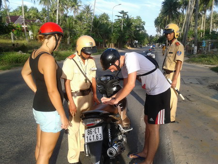 No more free rides for foreigners in Vietnam
