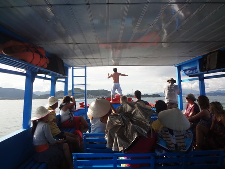 Phantasmagoria aboard the Nha Trang Booze Cruise