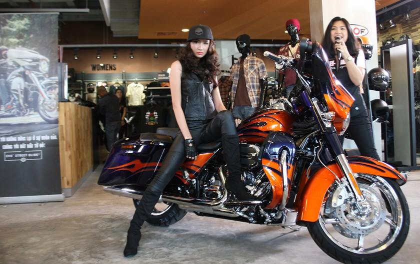 Harley davidson launches three 2015 models in vietnam business thanh nien daily