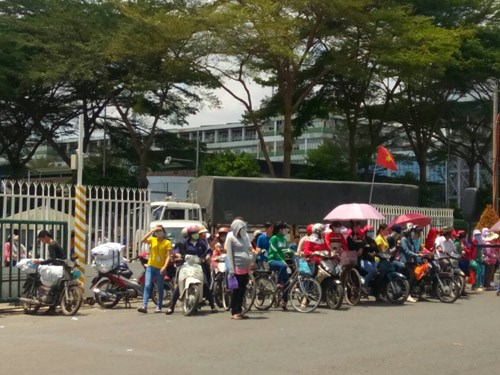 Workers electrocuted during wildcat strike at Taiwanese firm in Vietnam