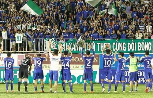 Draw enough for Hoang Anh Gia Lai to remain in V-League