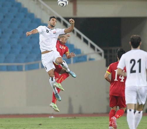 Last minute penalty saves Iraq from loss to Vietnam in World Cup qualifying