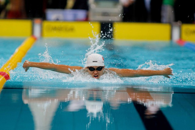 Anh Vien dominates national swimming event, but a younger star shines