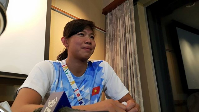Swimmer Anh Vien named Vietnam's Athlete of the Year