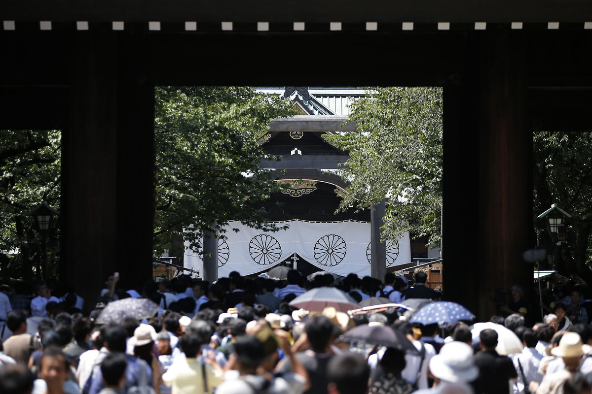 China protests after Abe makes donation to war shrine