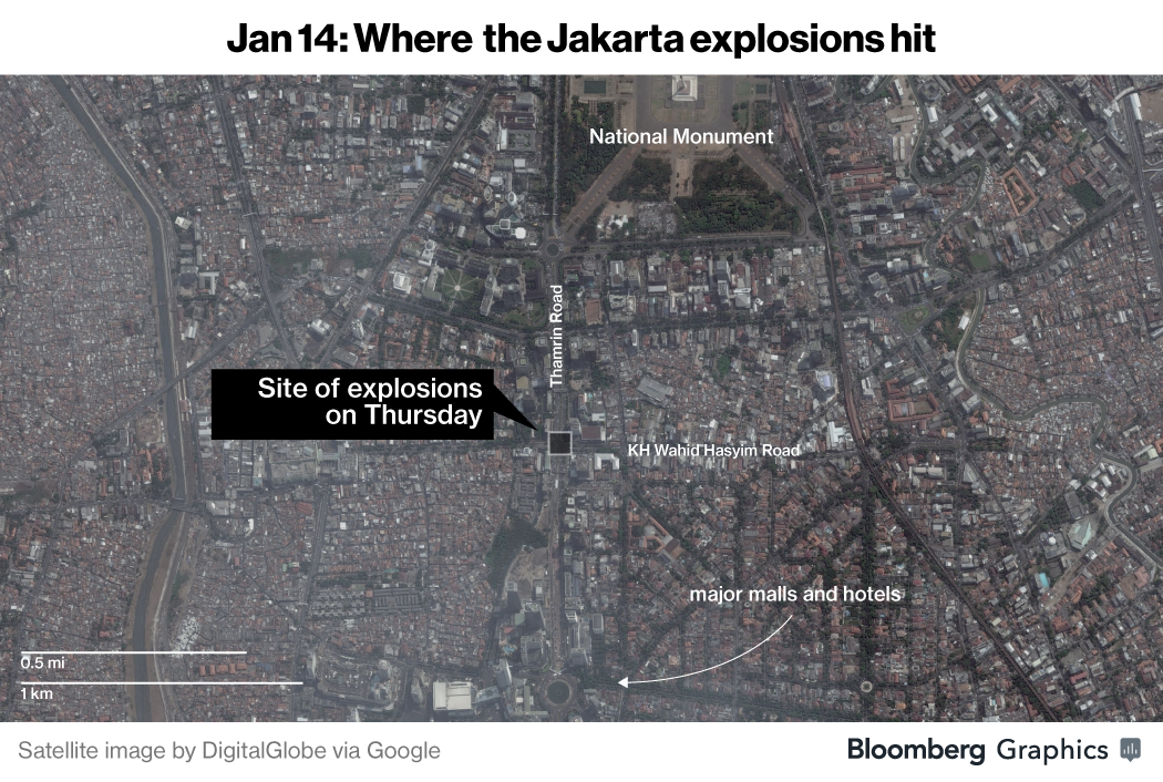 Indonesia attack brings Islamic State to Southeast Asia's door