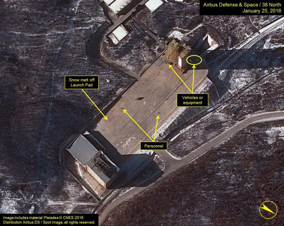 North Korea activity points to possible space launch: U.S. officials
