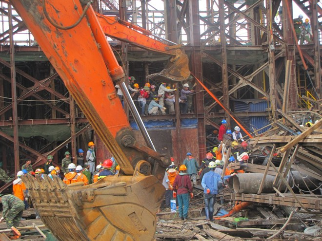 Vietnam to try 2 Koreans for scaffold collapse that killed 13