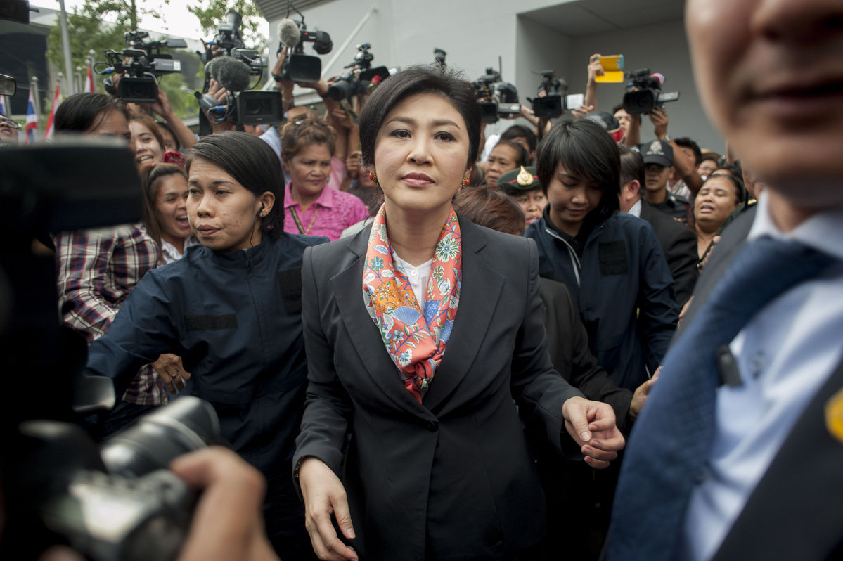 Yingluck faces five-year Thailand political ban after ouster