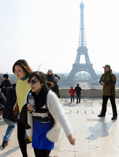 The Paris syndrome drives Chinese tourists away