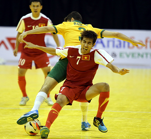 Vietnam futsal team lose to Australian, miss final