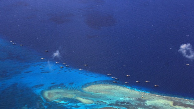 China building possible airfield in South China Sea: US