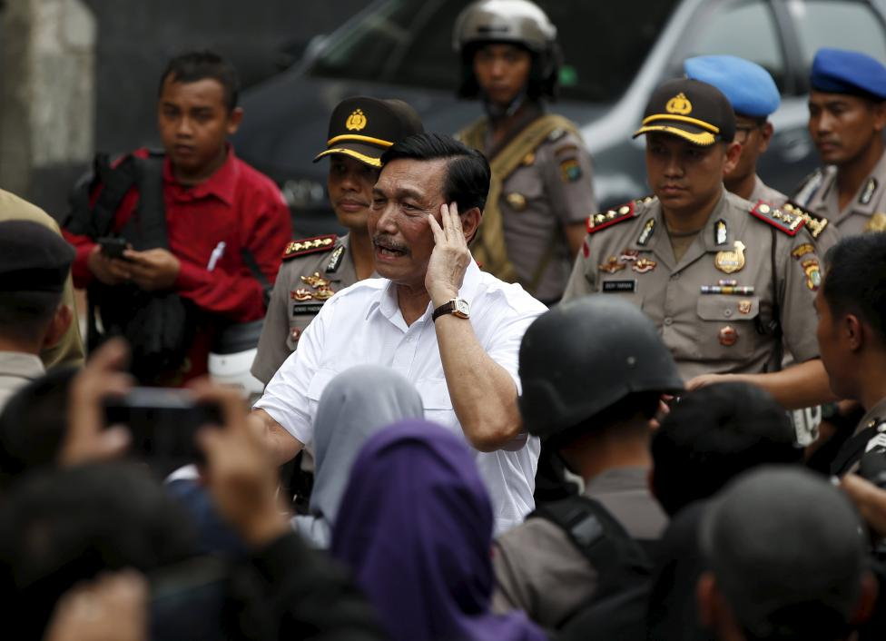 Islamic State launches militant assault on Indonesia's capital