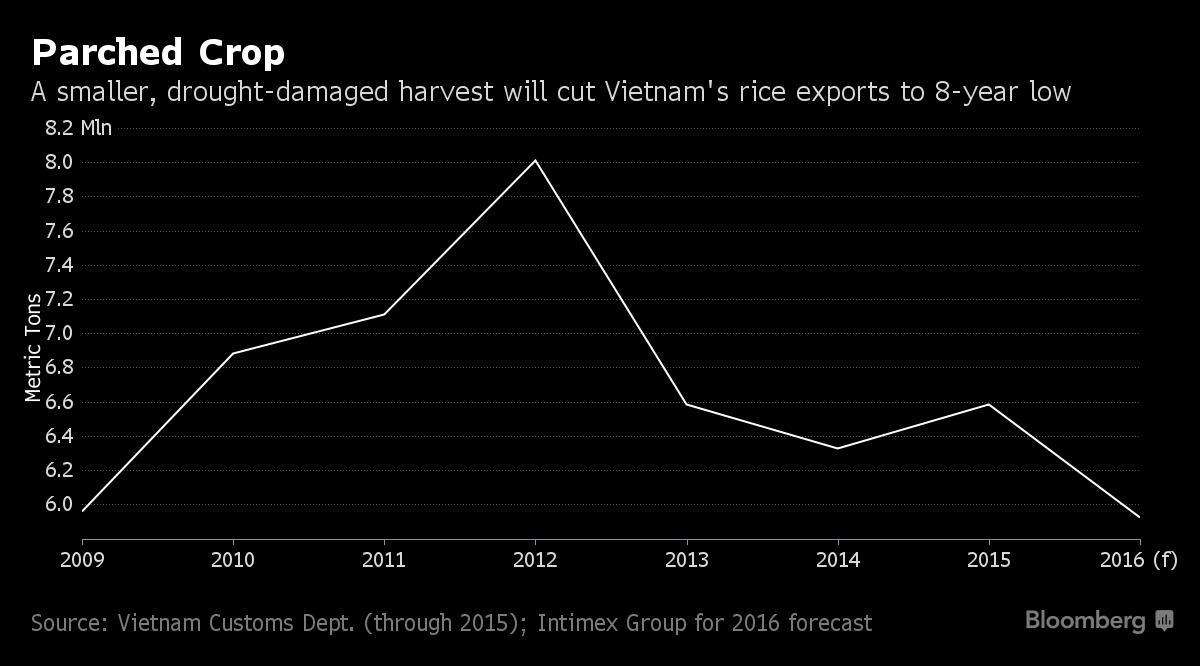 Drought killing Vietnam rice crops compounds Mekong water crisis