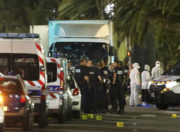 President of Nice says at least 60 people dead from truck