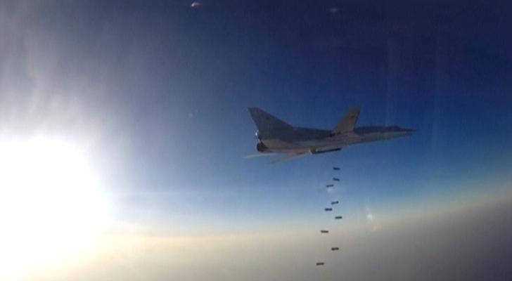 Russia uses Iran to strike Syria militants again, rejects U.S. censure leftright