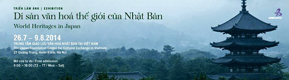 Photo exhibition on Japan's World Heritages to open in Hanoi
