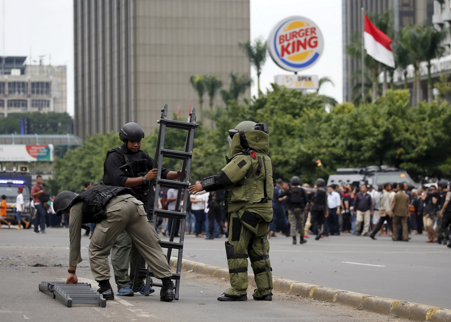 Islamic state officially claims Jakarta attacks -statement