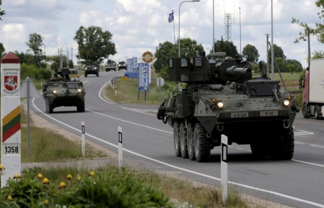 Nervous Baltics on war footing as NATO tries to deter Russia