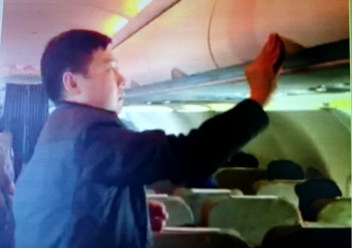 Another Chinese caught stealing on Vietnam Airlines flight