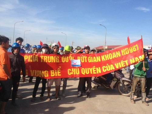 3 more arrested for looting at Taiwanese steel mill in Vietnam