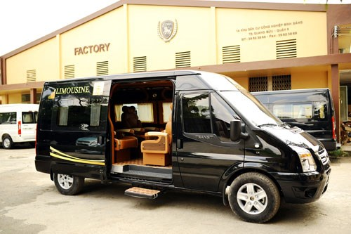 Luxury Van Service To Link HCMC And Vung Tau